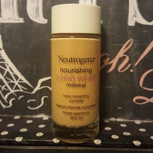 Neutrogena nourishing long wear foundation